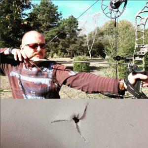 Résultat d'une optimisation sur l'équipement d'un chasseur à l'arc