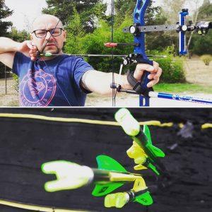 Optimisation de l'arc et des flèches d'un tireur à l'arc (FITA)